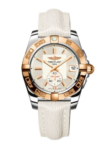 Breitling C3733012/G714/236X/A16BA.1 : Galactic 36 Automatic Stainless Steel / Rose Gold / Stratus Silver / Sahara