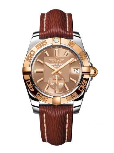 Breitling C3733012/Q584/216X/A16BA.1 : Galactic 36 Automatic Stainless Steel / Rose Gold / Copperhead Bronze / Sahara