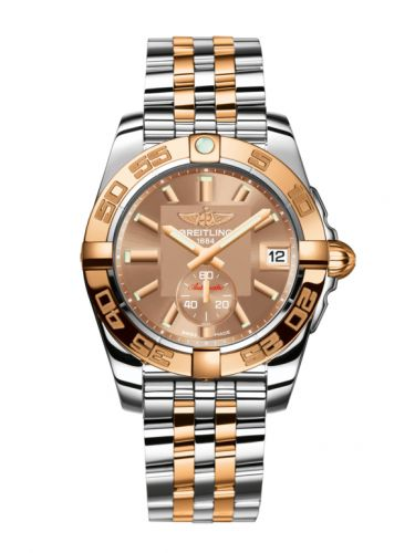 Breitling C3733012/Q584/376C : Galactic 36 Automatic Stainless Steel / Rose Gold / Copperhead Bronze / Bracelet