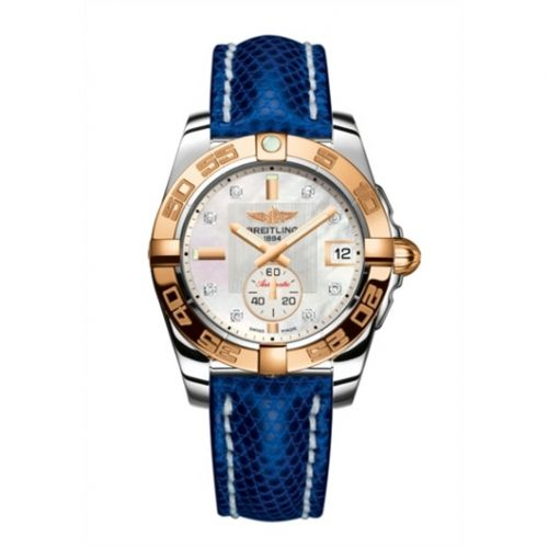 Breitling C3733012/A725/112Z/A16BA.1 : Galactic 36 Automatic Stainless Steel / Rose Gold / Pearl Diamond / Teju