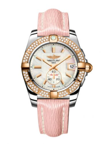 Breitling C3733053.A724.239X : Galactic 36 Automatic Stainless Steel / Rose Gold / Diamond / Pearl / Sahara
