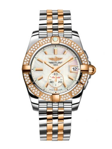 Breitling C3733053.A724.376C : Galactic 36 Automatic Stainless Steel / Rose Gold / Diamond / Pearl / Bracelet