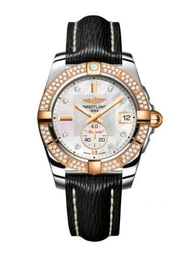 Breitling C3733053.A725.213X : Galactic 36 Automatic Stainless Steel / Rose Gold / Diamond / Pearl Diamond / Sahara