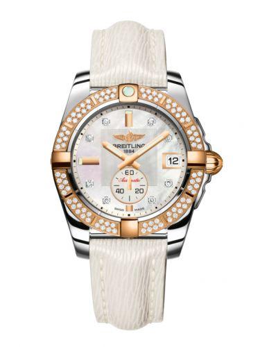 Breitling C3733053.A725.236X : Galactic 36 Automatic Stainless Steel / Rose Gold / Diamond / Pearl Diamond / Sahara