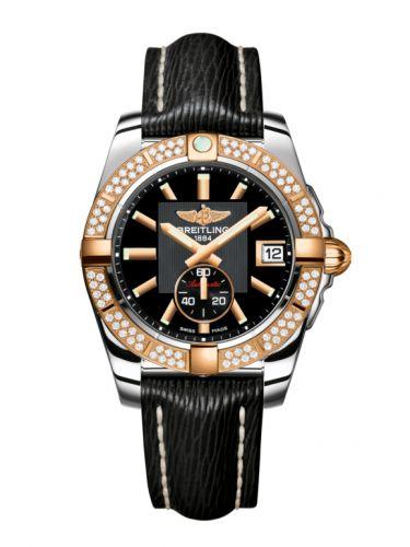 Breitling C3733053.BA54.213X : Galactic 36 Automatic Stainless Steel / Rose Gold / Diamond / Volcano Black / Sahara