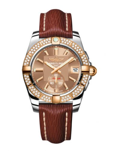 Breitling C3733053.Q584.216X : Galactic 36 Automatic Stainless Steel / Rose Gold / Diamond / Copperhead Bronze / Sahara