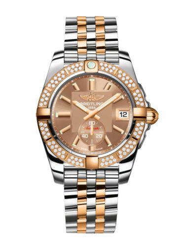 Breitling C3733053.Q584.376C : Galactic 36 Automatic Stainless Steel / Rose Gold / Diamond / Copperhead Bronze / Bracelet