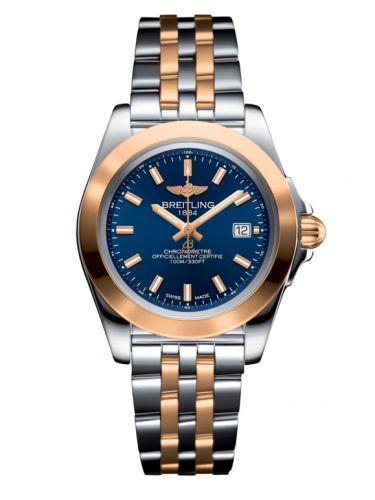 Breitling C7133012/C952/792C : Galactic 32 Sleek Edition Stainless Steel / Rose Gold / Horizon Blue / Bracelet