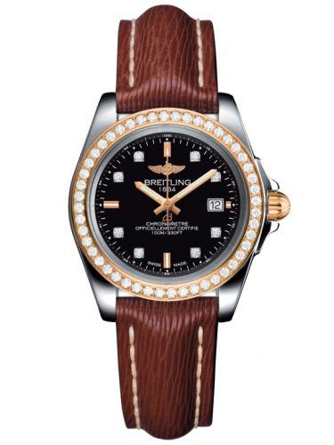 Breitling C7133053/BF64/211X/A14BA.1 : Galactic 32 Sleek Edition Stainless Steel / Rose Gold / Diamond / Trophy Black Diamond / Sahara