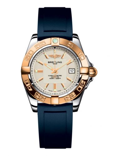 Breitling C71356L2.G704.141S : Galactic 32 Stainless Steel / Rose Gold / Sierra Silver / Rubber