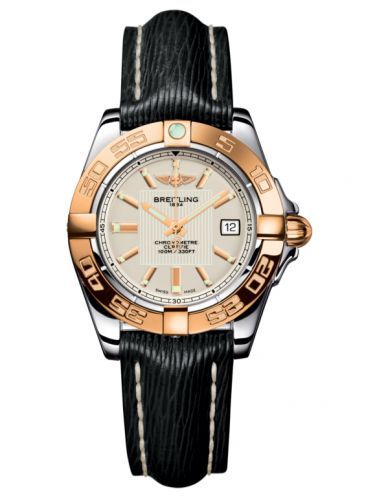 Breitling C71356L2.G704.208X : Galactic 32 Stainless Steel / Rose Gold / Sierra Silver / Sahara