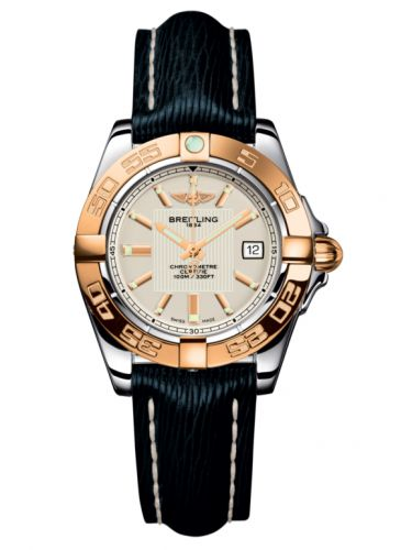 Breitling C71356L2.G704.210X : Galactic 32 Stainless Steel / Rose Gold / Sierra Silver / Sahara