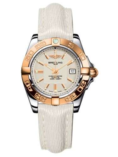Breitling C71356L2.G704.235X : Galactic 32 Stainless Steel / Rose Gold / Sierra Silver / Sahara