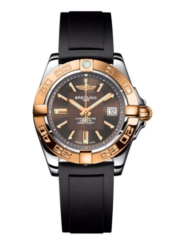 Breitling C71356L2.Q581.133S : Galactic 32 Stainless Steel / Rose Gold / Solar Bronze / Rubber