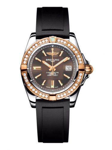 Breitling C71356LA.Q581.133S : Galactic 32 Stainless Steel / Rose Gold / Diamond / Solar Bronze / Rubber