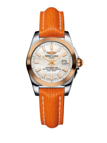 C7234812/A791/270X/A12BA.1 : Breitling Galactic 29 Stainless Steel / Rose Gold / Pearl / Sahara