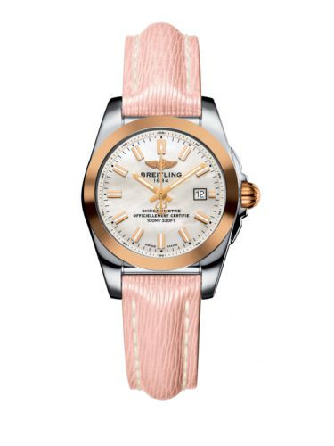 C7234812/A791/272X/A12BA.1 : Breitling Galactic 29 Stainless Steel / Rose Gold / Pearl / Sahara