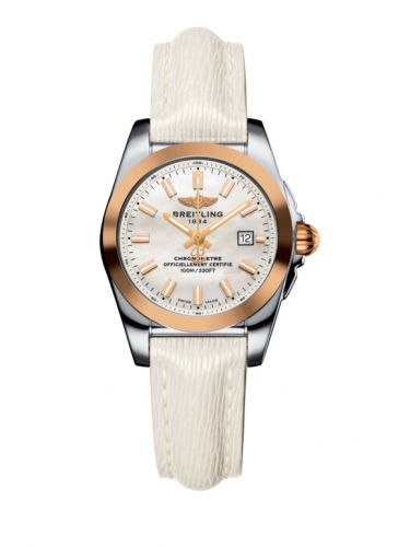 C7234812/A791/274X/A12BA.1 : Breitling Galactic 29 Stainless Steel / Rose Gold / Pearl / Sahara