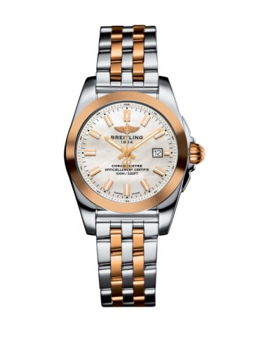 C72348121A1C1 : Breitling Galactic 29 Stainless Steel / Rose Gold / Pearl / Bracelet