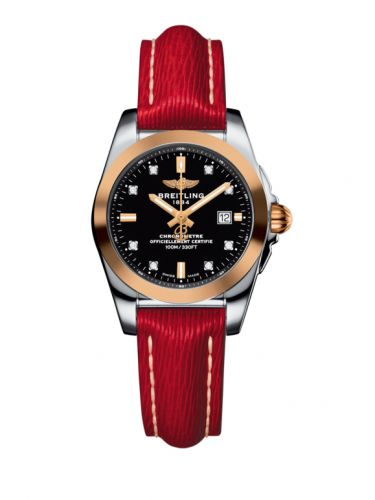 C7234812/BE86/273X/A12BA.1 : Breitling Galactic 29 Stainless Steel / Rose Gold / Trophy Black Diamond / Sahara