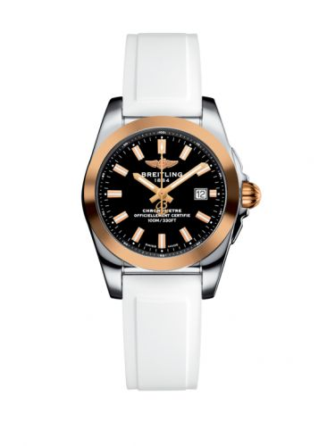 C7234812/BF32/249S/A12S.1 : Breitling Galactic 29 Stainless Steel / Rose Gold / Trophy Black / Rubber