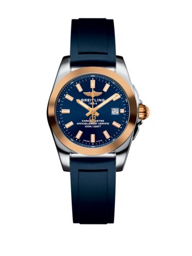 C7234812/C950/287S/A12S.1 : Breitling Galactic 29 Stainless Steel / Rose Gold / Horizon Blue / Rubber