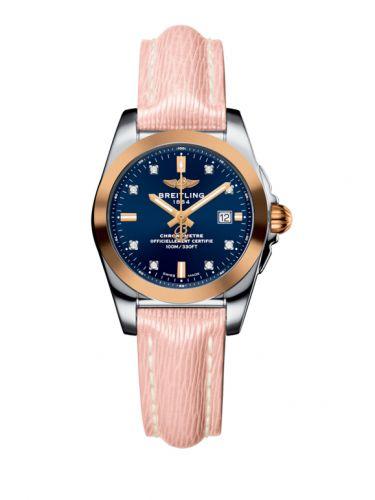 C7234812/C964/272X/A12BA.1 : Breitling Galactic 29 Stainless Steel / Rose Gold / Horizon Blue Diamond / Sahara