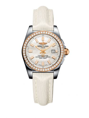 Breitling C7234853/A791/274X/A12BA.1 : Galactic 29 Stainless Steel / Rose Gold / Diamond / Pearl / Sahara