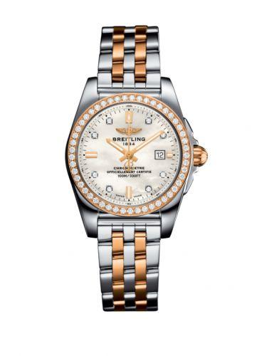 C72348531A1C1 : Breitling Galactic 29 Stainless Steel / Rose Gold / Diamond / Pearl Diamond / Bracelet