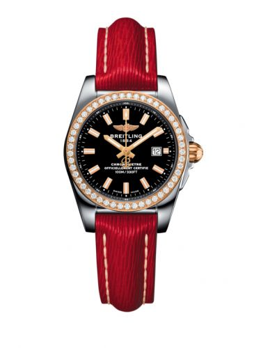 C7234853/BF32/273X/A12BA.1 : Breitling Galactic 29 Stainless Steel / Rose Gold / Diamond / Trophy Black / Sahara