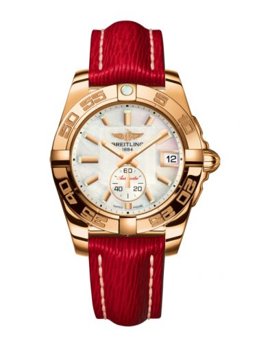 Breitling H3733012.A724.214X : Galactic 36 Automatic Rose Gold / Pearl / Sahara