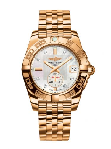 Breitling H3733012.A725.376H : Galactic 36 Automatic Rose Gold / Pearl Diamond / Bracelet