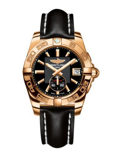 Breitling H3733012.BA54.414X : Galactic 36 Automatic Rose Gold / Volcano Black / Calf