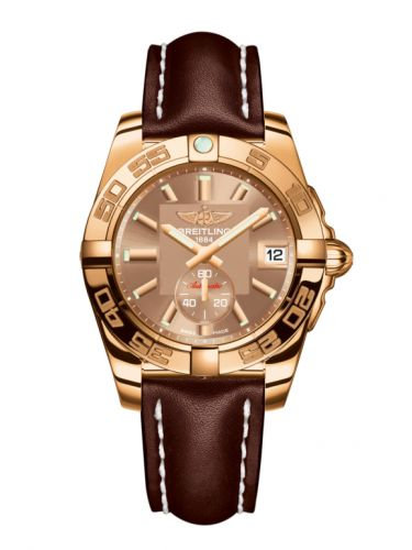 Breitling H3733012.Q584.416X : Galactic 36 Automatic Rose Gold / Copperhead Bronze / Calf