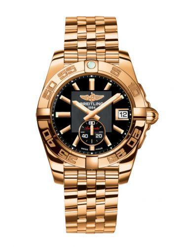 Breitling H3733012BA54376H : Galactic 36 Automatic Rose Gold / Volcano Black / Bracelet