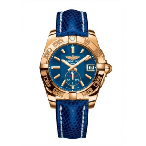 Breitling H3733012.C831.112Z : Galactic 36 Automatic Rose Gold / Gun Blue / Teju