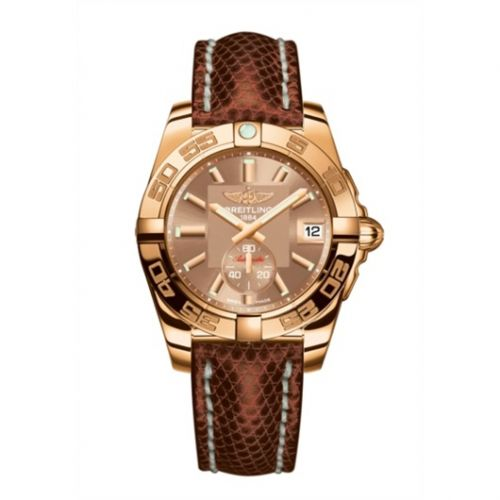 Breitling H3733012.Q584.172Z : Galactic 36 Automatic Rose Gold / Copperhead Bronze / Teju