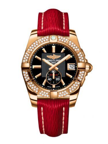 Breitling H3733053.BA54.214X : Galactic 36 Automatic Rose Gold / Diamond / Volcano Black / Sahara