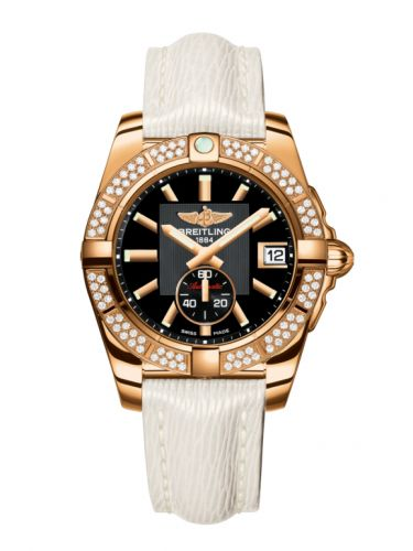 Breitling H3733053.BA54.236X : Galactic 36 Automatic Rose Gold / Diamond / Volcano Black / Sahara