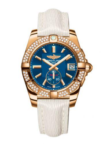 Breitling H3733053.C831.236X : Galactic 36 Automatic Rose Gold / Diamond / Gun Blue / Sahara