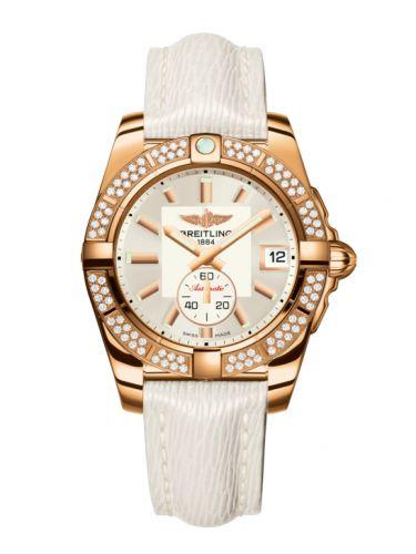 Breitling H3733053.G714.236X : Galactic 36 Automatic Rose Gold / Diamond / Stratus Silver / Sahara