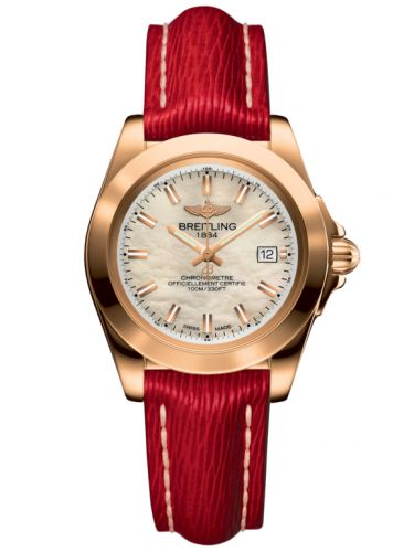 Breitling H7133012.A802.209X : Galactic 32 Sleek Edition Rose Gold / Pearl / Sahara