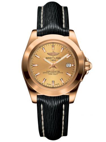 Breitling H7133012.H549.208X : Galactic 32 Sleek Edition Rose Gold / Golden Sun / Sahara