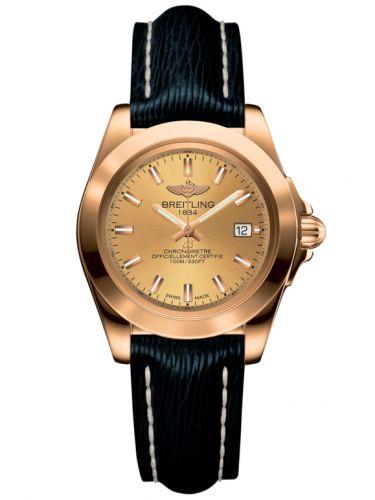 Breitling H7133012.H549.210X : Galactic 32 Sleek Edition Rose Gold / Golden Sun / Sahara