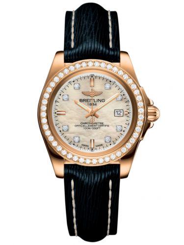Breitling H7133053.A803.210X : Galactic 32 Sleek Edition Rose Gold / Diamond / Pearl Diamond / Sahara