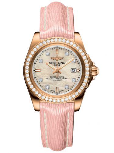 Breitling H7133053.A803.238X : Galactic 32 Sleek Edition Rose Gold / Diamond / Pearl Diamond / Sahara