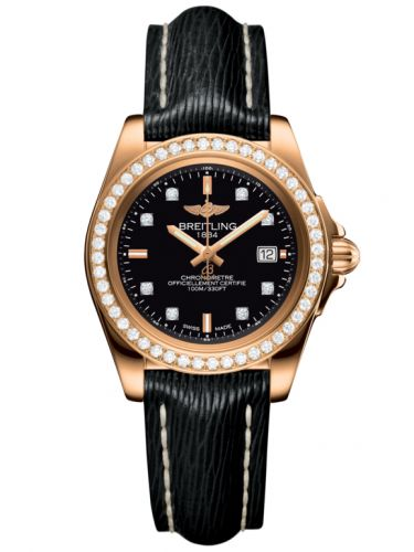 Breitling H7133053.BF64.208X : Galactic 32 Sleek Edition Rose Gold / Diamond / Trophy Black Diamond / Sahara