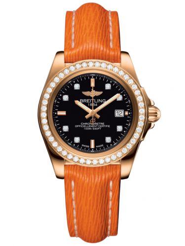 Breitling H7133053.BF64.212X : Galactic 32 Sleek Edition Rose Gold / Diamond / Trophy Black Diamond / Sahara