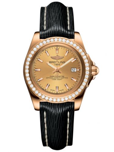 Breitling H7133053.H549.208X : Galactic 32 Sleek Edition Rose Gold / Diamond / Golden Sun / Sahara