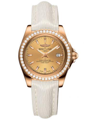 Breitling H7133053.H549.235X : Galactic 32 Sleek Edition Rose Gold / Diamond / Golden Sun / Sahara